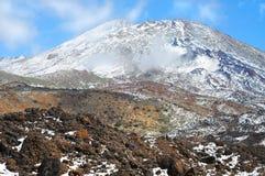 Volcano Pico del Teide Stock Images