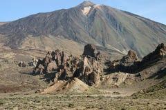 Volcano Pico del Teide del EL Teide Fotografia Stock