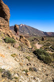 Volcano Pico del Teide, El Teide national park, Tenerife, Canary Stock Photography