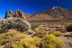 Volcano Pico del Teide, Tenerife Royalty Free Stock Photos
