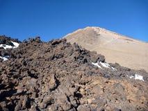 Volcano pico del teide at Tenerife Royalty Free Stock Photography