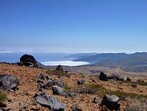 Volcano pico del teide at Tenerife Stock Images