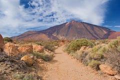 Volcano Pico del Teide Tenerife kanariefågelöar, Spanien royaltyfri bild