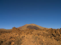 Volcano Pico Viejo Royalty Free Stock Image