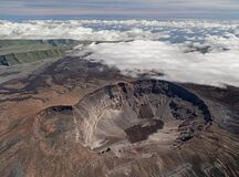 Free Volcano Piton De La Fournaise At Island La Reunion Royalty Free Stock Photography - 171767507