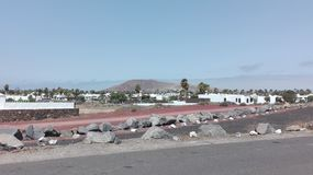 Volcano Playa Blanca Photographie stock libre de droits