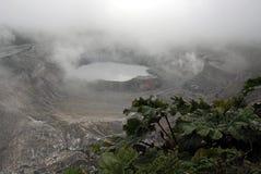 Volcano poas Stock Photos