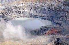 Volcano Poas Imagem de Stock