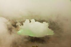 Volcano Poas, Costa Rica royalty-vrije stock fotografie