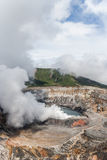 Volcano Poas in Costa Rica Royalty Free Stock Photo