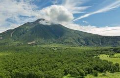 Volcano Priemysh. South Kamchatka Nature Park. Stock Photos