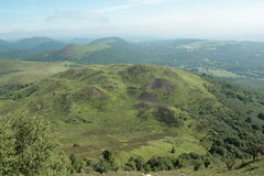 Volcano in Puy-de-dome Royalty Free Stock Photography