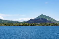 Volcano Rabaul, Papoea-Nieuw-Guinea Royalty-vrije Stock Foto's