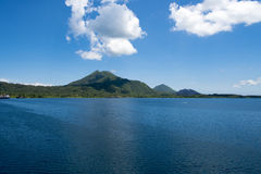Volcano Rabaul, Papuásia-Nova Guiné Imagem de Stock Royalty Free