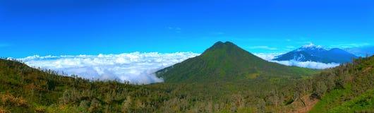 Volcano Ranti royalty free stock photography