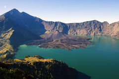 Volcano Rinjani Stock Photo