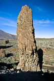 Volcano rock. Los giganthos in Tenerife Royalty Free Stock Images