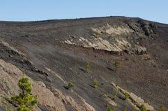Volcano San Antonio, Fuencaliente photos libres de droits