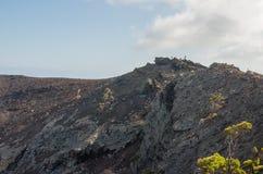 Volcano San Antonio, Fuencaliente. Volcano San Antonio, Fuencaliente, La Palma, Canary Islands, Spain Stock Photo
