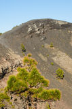 Volcano San Antonio, Fuencaliente. Volcano San Antonio, Fuencaliente, La Palma, Canary Islands, Spain Royalty Free Stock Photo