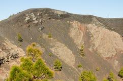 Volcano San Antonio, Fuencaliente. Volcano San Antonio, Fuencaliente, La Palma, Canary Islands, Spain Royalty Free Stock Image