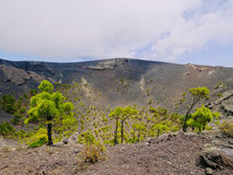 Volcano San Antonio in Fuencaliente on La Palma Stock Photo