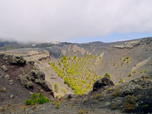 Volcano San Antonio in Fuencaliente on La Palma Royalty Free Stock Images