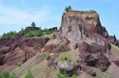 Volcanic landscape Stock Images