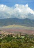 Volcano slopes and scenery from Maui, Hawaii Royalty Free Stock Photography