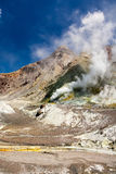 Volcano, Smoking Earth Royalty Free Stock Images