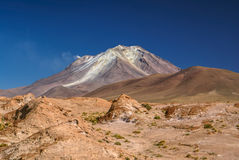 Volcano in south america Stock Images