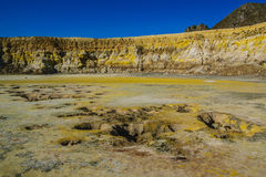 Volcano surface. Royalty Free Stock Images
