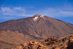 Volcano Teide. View of Teide peak on Tenerife, Canary islands Stock Image