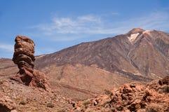 Volcano Teide. View of Teide peak on Tenerife, Canary islands Stock Photography