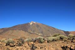 Volcano Teide en Tenerife, España Foto de archivo libre de regalías
