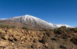 Volcano Teide in Tenerife, Canary island. Stock Photos