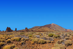 Volcano Teide in Tenerife island - Canary Royalty Free Stock Images