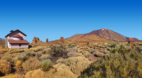 Volcano Teide in Tenerife island - Canary Stock Photos