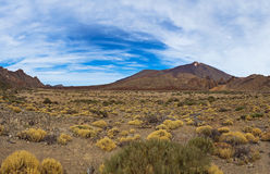 Volcano Teide in Tenerife island - Canary Royalty Free Stock Photography