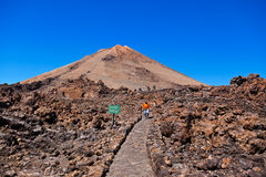 Volcano Teide in Tenerife island - Canary Spain Royalty Free Stock Image