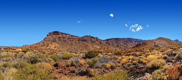 Volcano Teide in Tenerife island - Canary Royalty Free Stock Photo