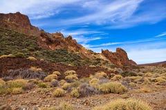 Volcano Teide in Tenerife island - Canary Stock Photo