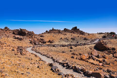 Volcano Teide in Tenerife island - Canary Spain Stock Photography