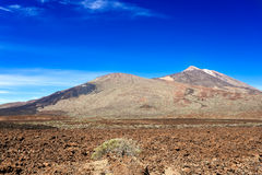 Volcano Teide Tenerife Island Spain Royalty Free Stock Photo