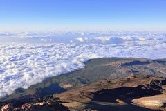 Volcano Teide, & x28;Tenerife& x29; 3718 meters. Natural Heritage of UNESC stock image