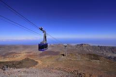 Volcano Teide, Tenerife 3718 meters Natuurlijk erfgoed van UNESC stock foto