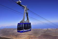 Volcano Teide, Tenerife 3718 meters Natuurlijk erfgoed van UNESC royalty-vrije stock fotografie
