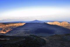 Volcano Teide, & x28; Tenerife& x29; 3718 meters Natuurlijk erfgoed van UNESC stock afbeeldingen
