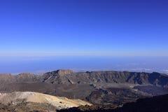 Volcano Teide, & x28; Tenerife& x29; 3718 meters Natuurlijk erfgoed van UNESC stock foto's