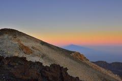 Volcano Teide, & x28; Tenerife& x29; 3718 meters Natuurlijk erfgoed van UNESC royalty-vrije stock fotografie